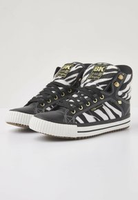 British Knights - ATOLL - High-top trainers - zebra/black - 3
