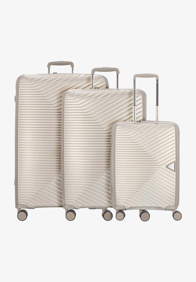 3 PIECES - Luggage set - beige