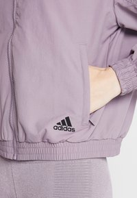adidas Performance - BOMBER - Training jacket - purple - 3