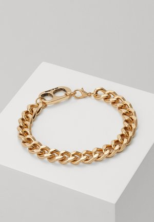 RING PULL CHAIN BRACELET - Náramek - gold-coloured