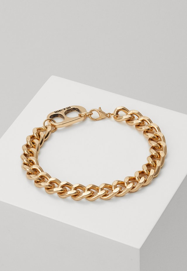 RING PULL CHAIN BRACELET - Armband - gold-coloured