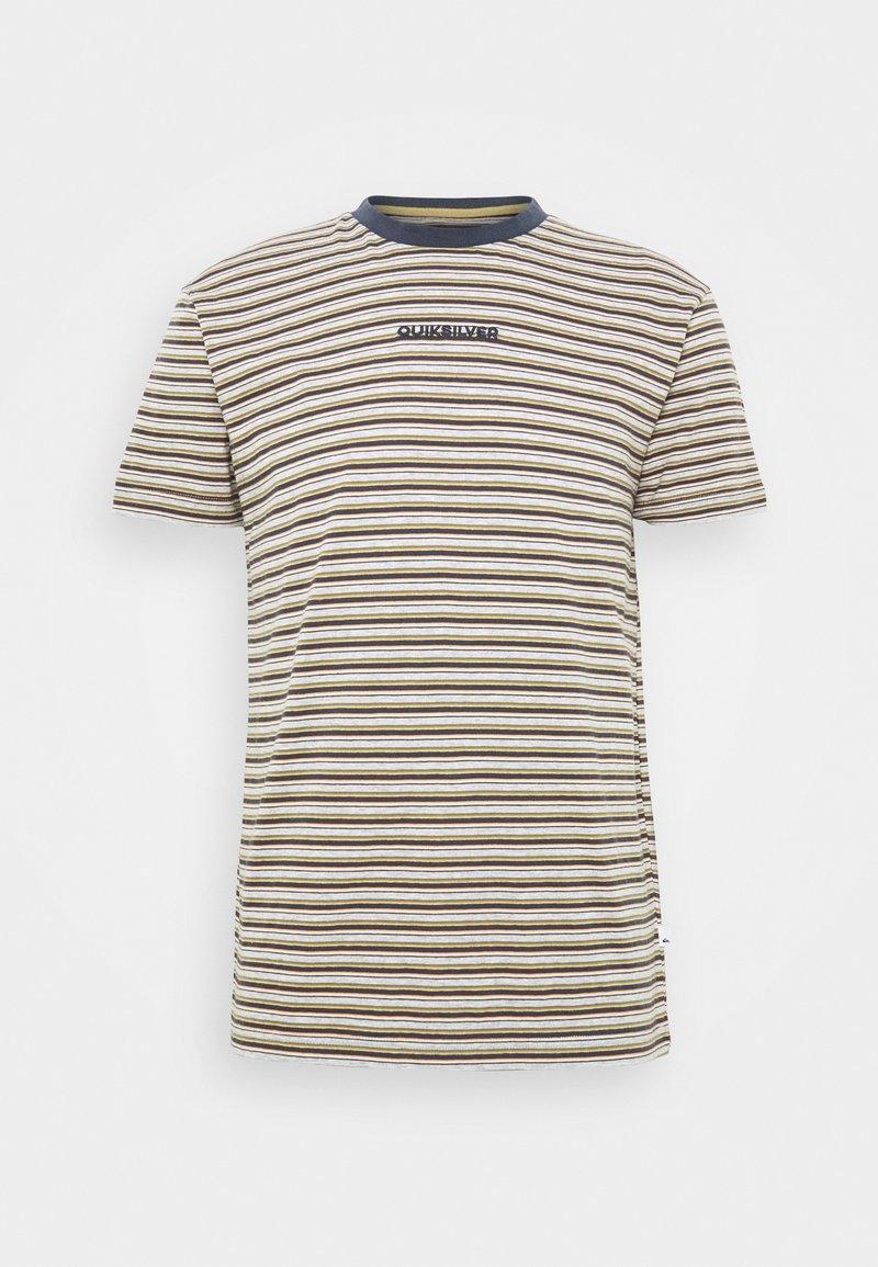 Quiksilver - SHRED THAT - Print T-shirt - parisian night