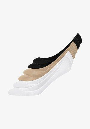 Trainer socks - schwarz/weiß/beige