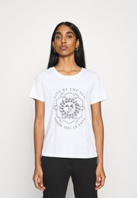 ONLY - ONLSYMBOL  - Print T-shirt - white/live by the sun - 0