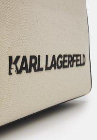 KARL LAGERFELD - SKUARE TOTE - Tote bag - natural - 4