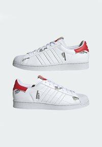 adidas Originals - SUPERSTAR  - Sneakers basse - white - 3
