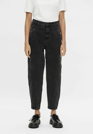 Jeansy Relaxed Fit - black denim