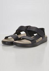 ECCO - CORKSPHERE  - Sandals - black - 5