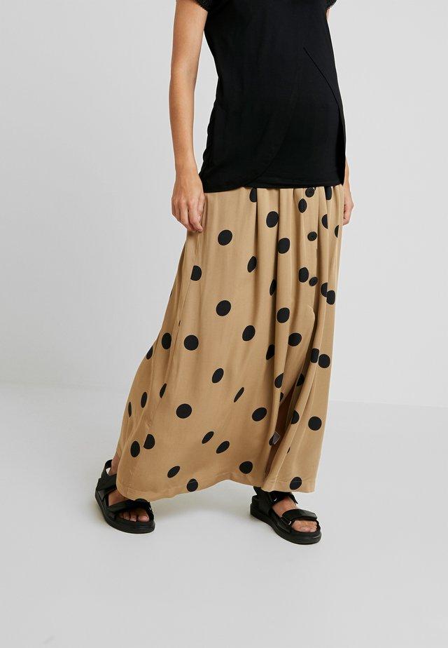 KSARA - Maxi skirt - sand