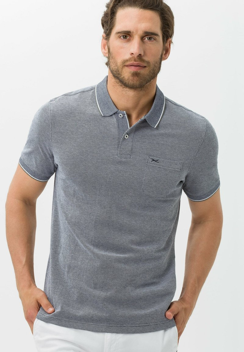 BRAX - STYLE PADDY - Polo shirt - marine