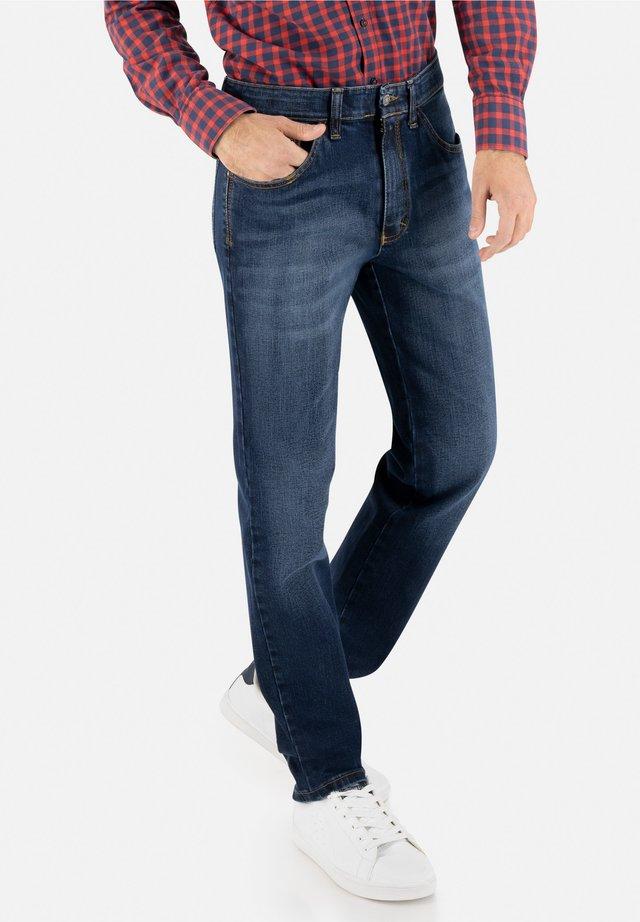 JEANS HENRY - Slim fit jeans - mittelblau
