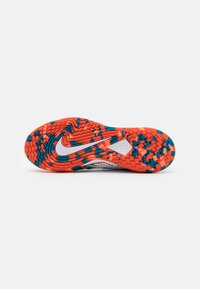 Nike Performance - AIR ZOOM VAPOR CAGE 4 - All court tennisskor - white/team orange/green abyss - 4