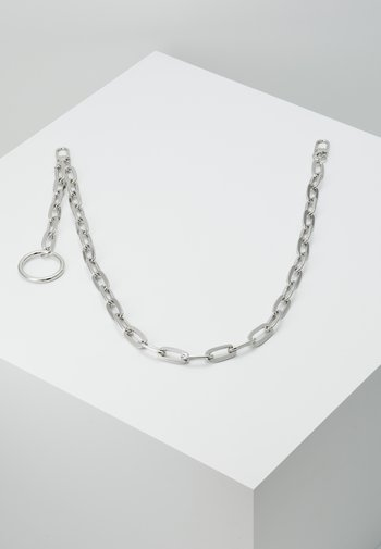 CLEAN CABLE WALLET CHAIN - Keyring - rhodium