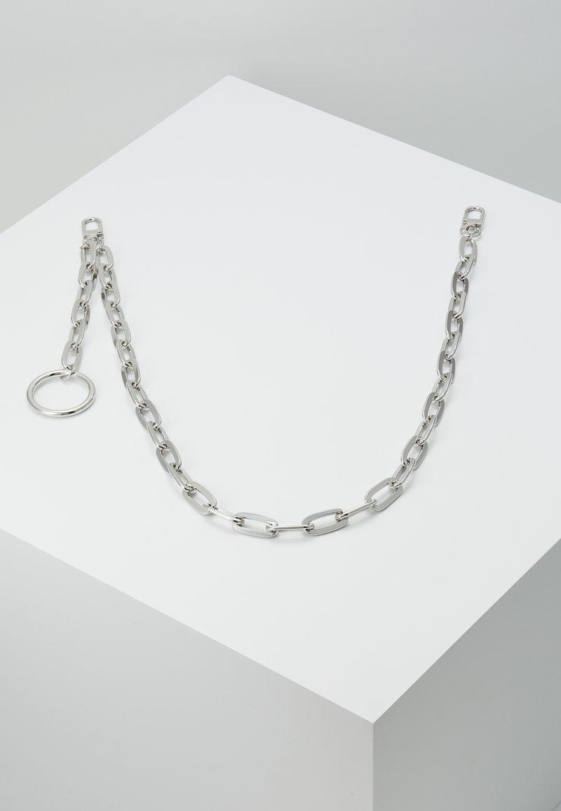 Topman - CLEAN CABLE WALLET CHAIN - Klíčenka - rhodium