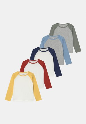 RAGLAN 5 PACK UNISEX - T-shirt à manches longues - multi-coloured