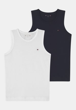 2 PACK - Camiseta interior - white/desert sky