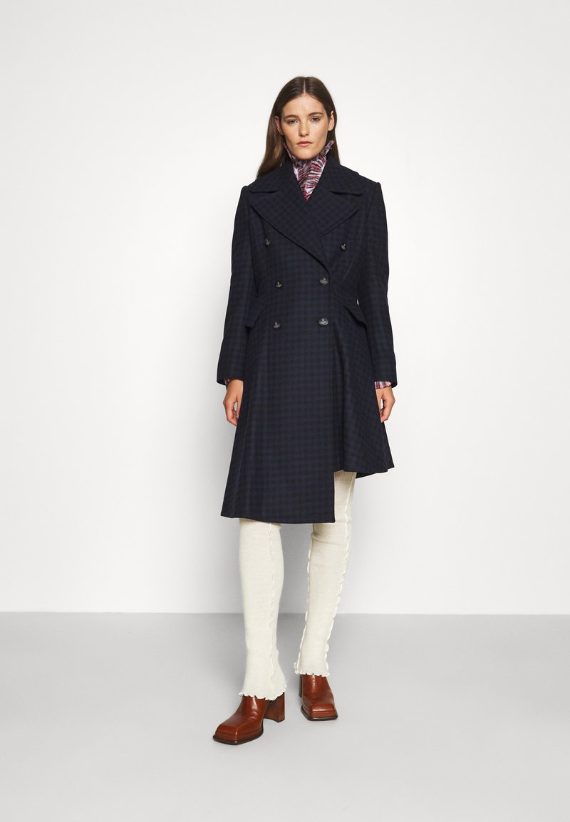 Vivienne Westwood - NUTMEG COAT - Classic coat - navy/black