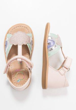 TITY RAINBOW - Sandals - pink/opal/lila