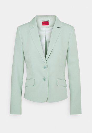 AURELLA SOFT STRUCTURE - Blazer - light pastel green