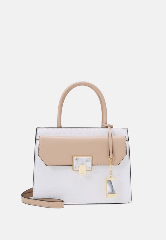 KAULIAN - Shopping bags - toasted almond/white combo/gold