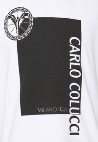 Carlo Colucci - BLOCK - Print T-shirt - weiss - 2