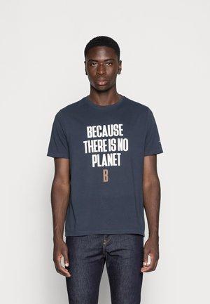 MIN MAN - T-shirt print - navy
