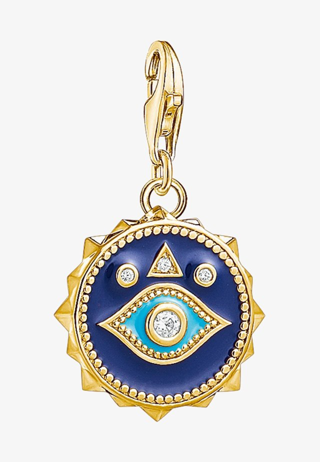 Pendant - yellow gold coloured/white/turquoise/blue