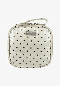 Wicked Sista - WS NATURAL DOT SMALL SQUARE - Wash bag - weiß - 0