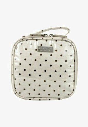 WS NATURAL DOT SMALL SQUARE - Wash bag - weiß