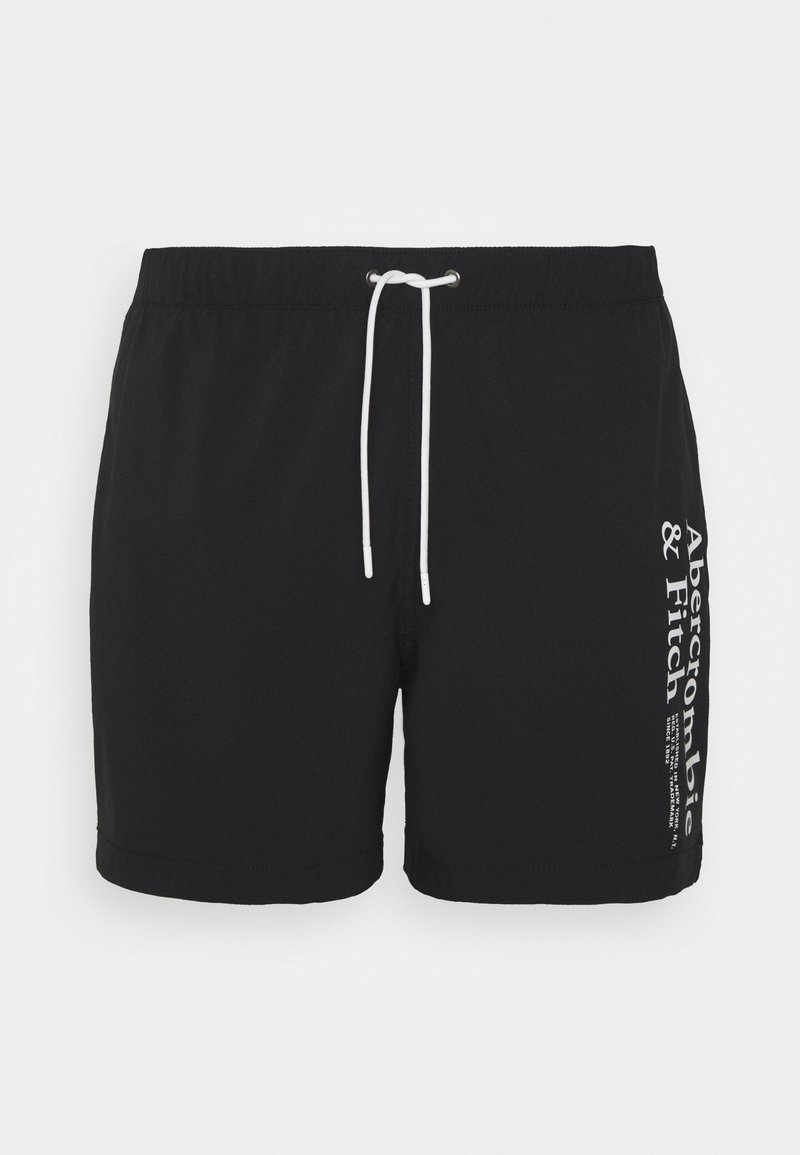 Abercrombie & Fitch - INCH BLACK LOGO - Surfshorts - black
