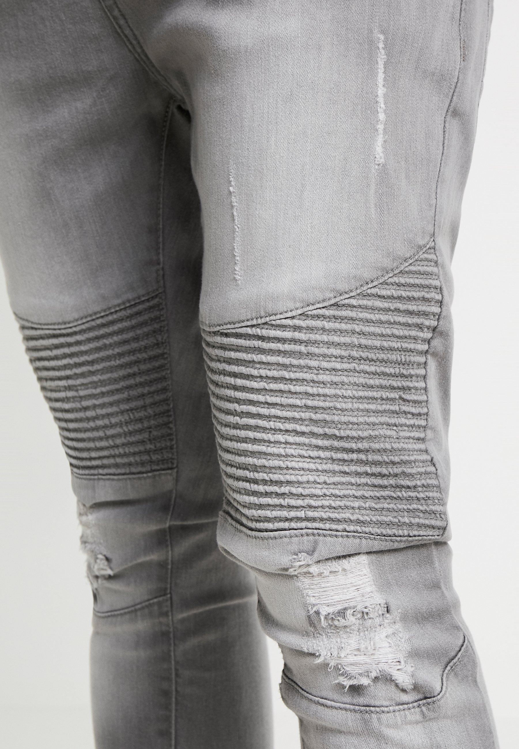 Brave Soul MALACHI - Jeans Skinny Fit - light grey