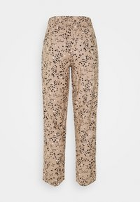 Marks & Spencer London - TAP PRINT - Trousers - light brown - 1