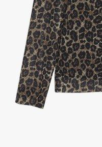 Name it - NKFSANIMAL SLIM - Long sleeved top - black - 3