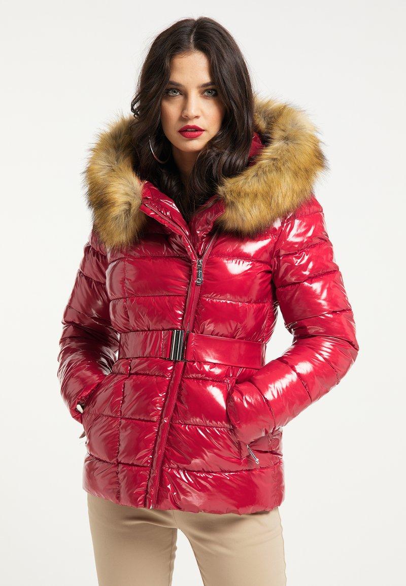 faina - Winter jacket - rot