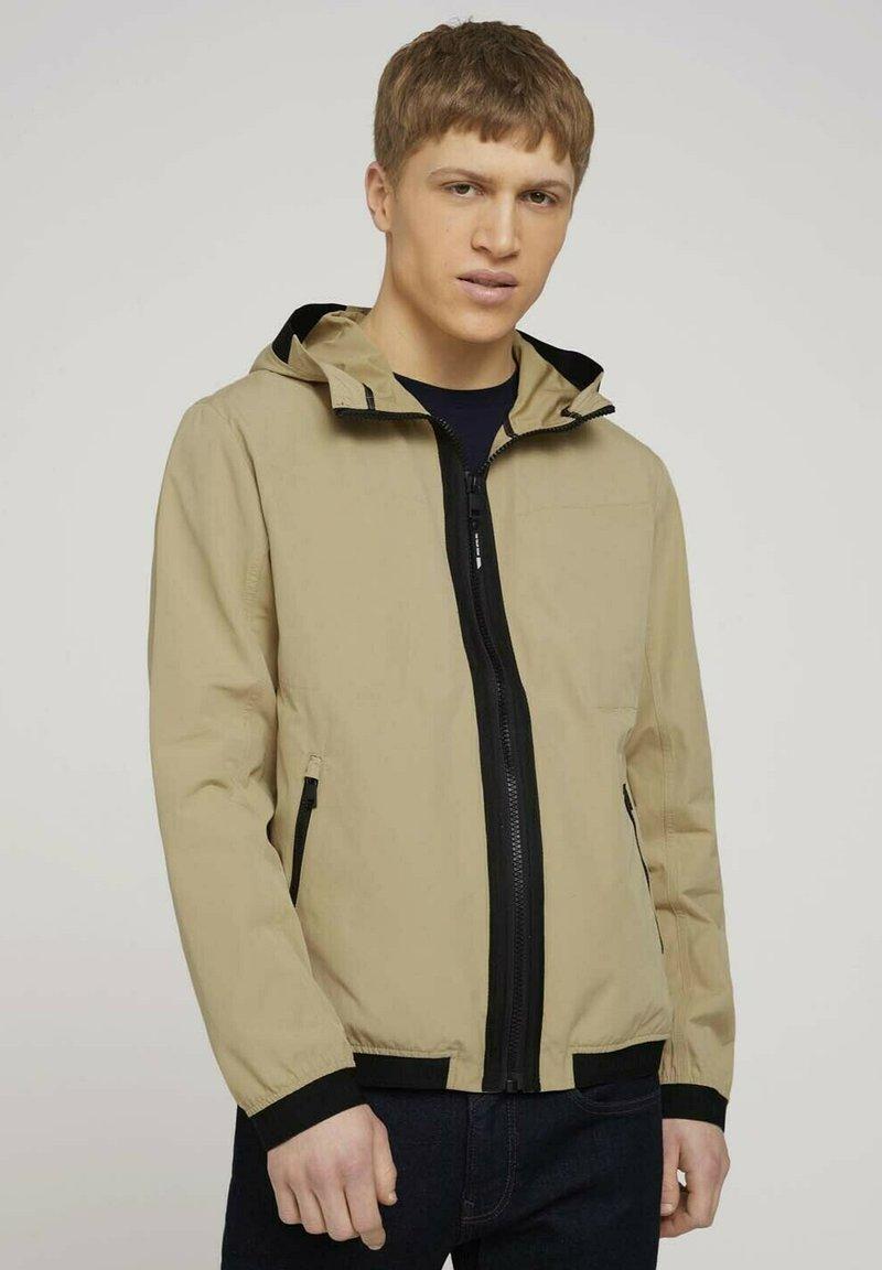 TOM TAILOR - Light jacket - smoked beige