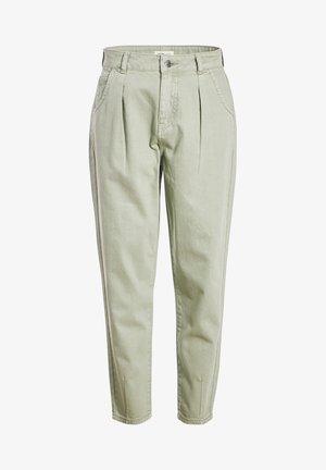 MIT FALTEN - Trousers - vert clair