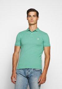 Polo Ralph Lauren - SLIM FIT MODEL - Poloshirts - haven green - 0