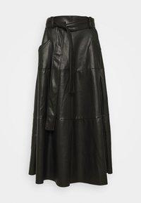Derhy - PELOPONESE JUPE - A-line skirt - black - 0