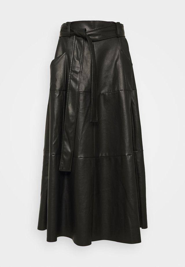 PELOPONESE JUPE - A-line skirt - black