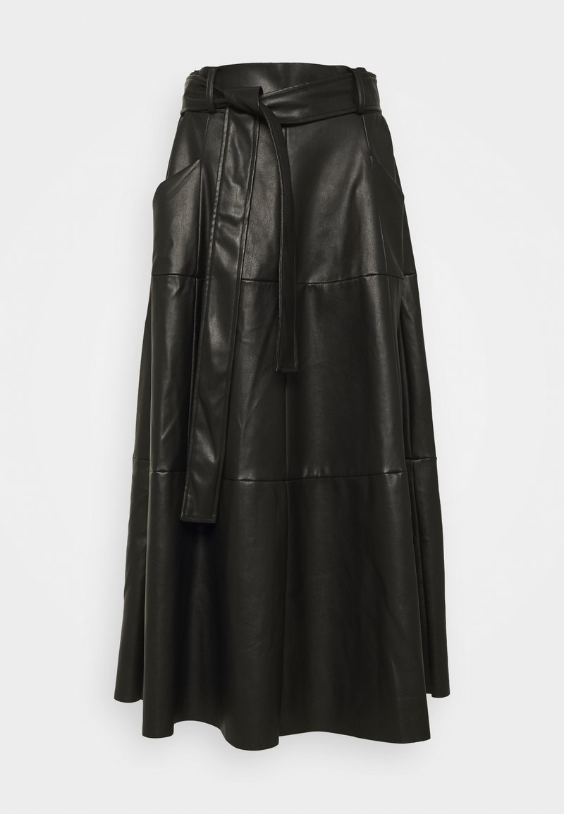 Derhy - PELOPONESE JUPE - A-line skirt - black