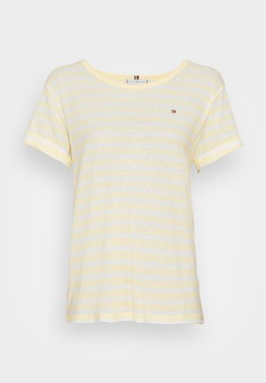 RELAXED - T-shirt print - yellow
