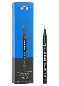 Eyeko - BLACK MAGIC: COCOA EDIT LIQUID EYELINER - Eyeliner - brown - 1
