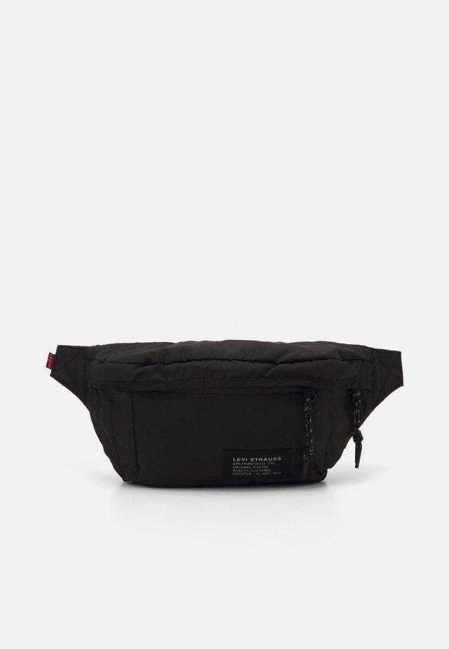 STANDARD BANANA SLING COZY NO HORSE LOGO PATCH - Bum bag - regular black