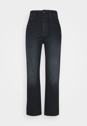 TEDIE ULTRA HIGH STRAIGHT ANKLE - Jeans straight leg - xenon blue