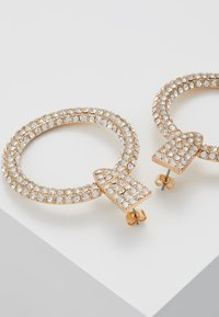 Pieces - PCDARLING EARRINGS - Náušnice - gold-coloured/clear - 2