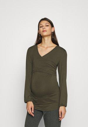 NURSING  - Basic T-shirt - olive