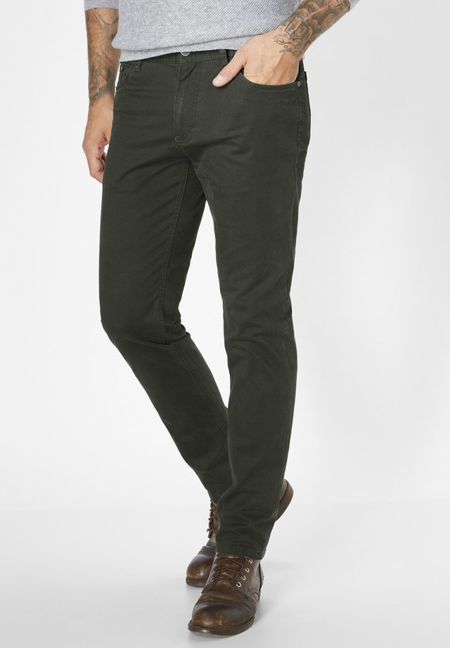 MILTON - Straight leg jeans - oliv