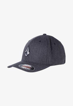 Cap - mottled dark grey