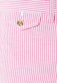 Polo Ralph Lauren - SEERSUCKER - Shorts - pink/white - 2