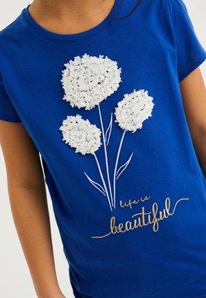 T-shirts print - cobalt blue